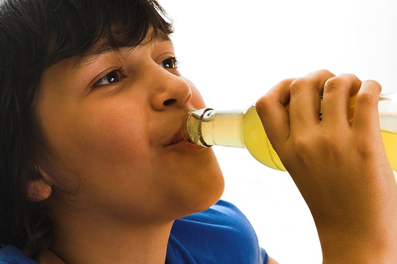 dental health risks of sugar-free soda pop